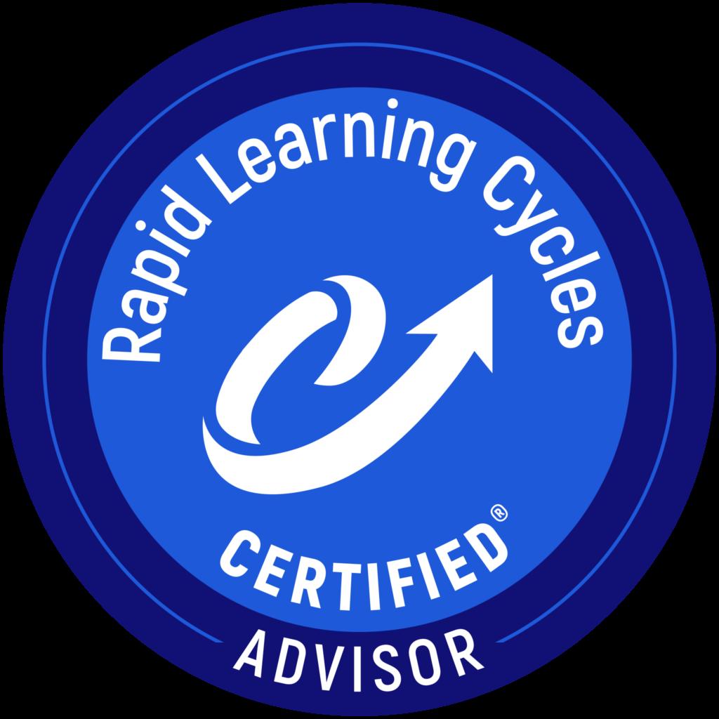 Rapid Learning Cycles Advisor badge